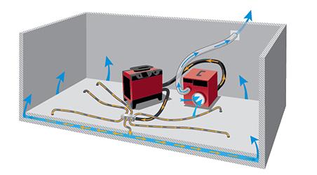 Sehr Haben Sie einen Wasserschaden? Bautrocknung und Wasserschadensanierung JZ32